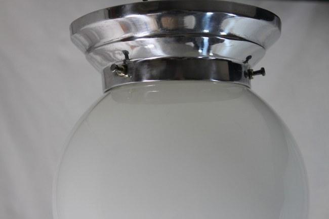 original art deco opalglas lampe deckenlampe durchmesser 15 cm ebay. Black Bedroom Furniture Sets. Home Design Ideas