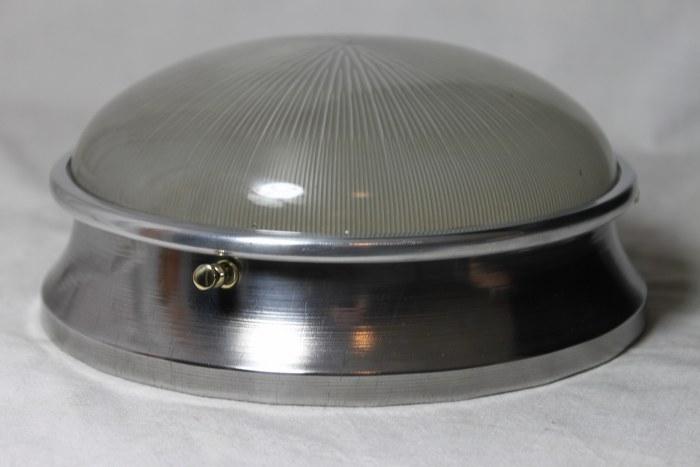 Eine wandlampe deckenlampe industriedesign bullauge holophane ebay - Wandlampe industriedesign ...