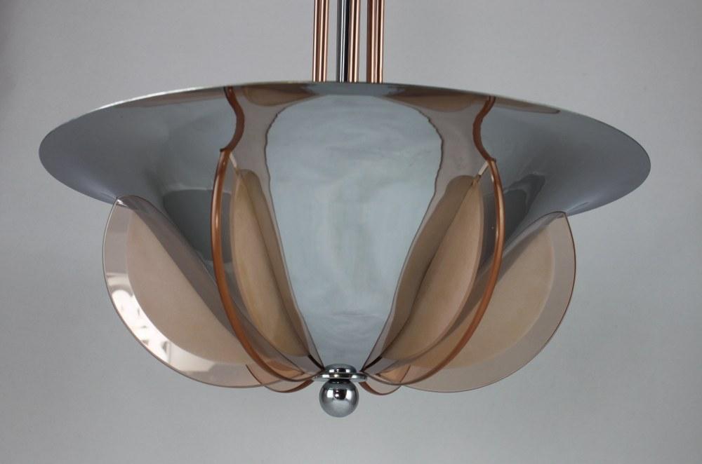 noble art deco lampe lustre petitot style ebay. Black Bedroom Furniture Sets. Home Design Ideas
