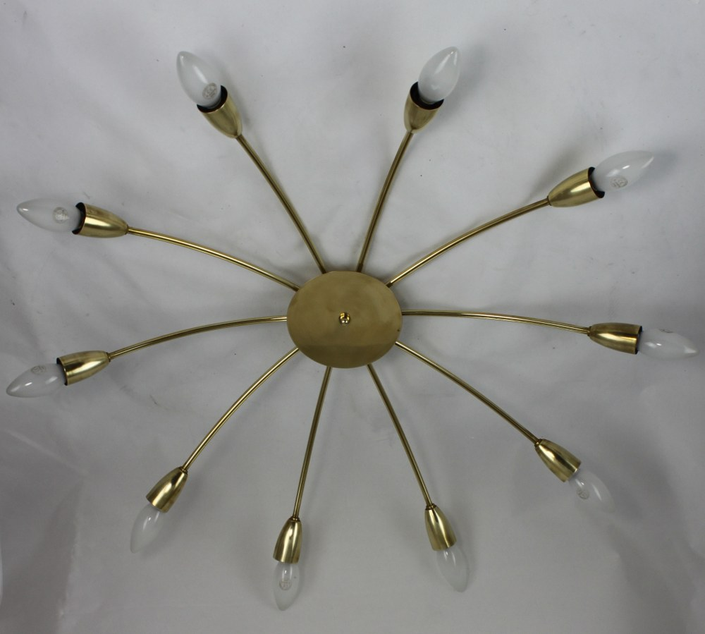 1 von 2 kaiser leuchten spinnenlampe deckenlampe sputnik lampe vintage 60er ebay. Black Bedroom Furniture Sets. Home Design Ideas