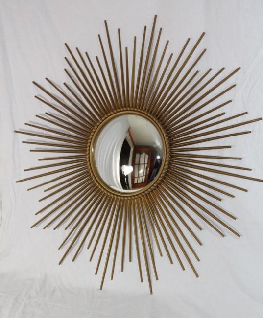 gro er xxl sunburst sonnenspiegel sign chaty vallauris ebay. Black Bedroom Furniture Sets. Home Design Ideas