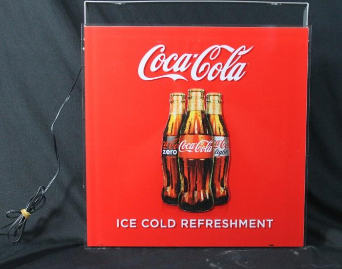 original coca cola leuchtreklame werbeschild led. Black Bedroom Furniture Sets. Home Design Ideas