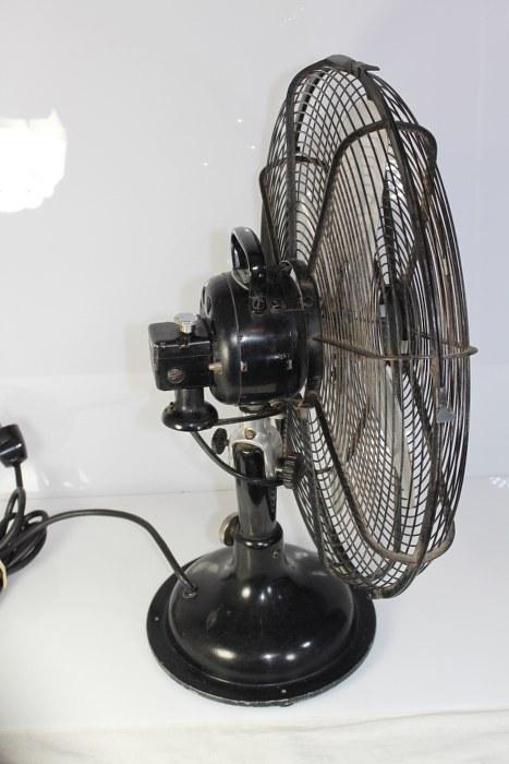 gro er alter cinni ventilator tischl fter entwurf 1920 emerson ebay. Black Bedroom Furniture Sets. Home Design Ideas